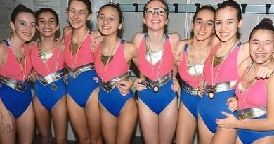 1 Nuoto artistico - squadra Ragazze 2018-2019