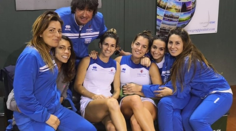 Tennis Club Faenza A1 donne 2018