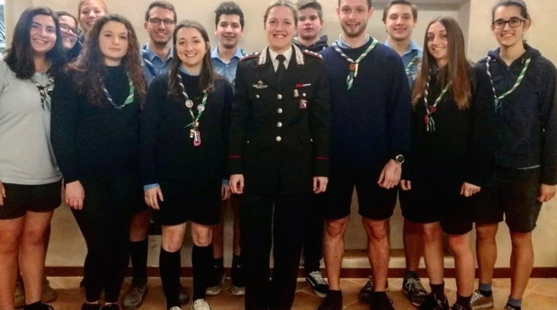 Antonietta Petrone carabinieri scout