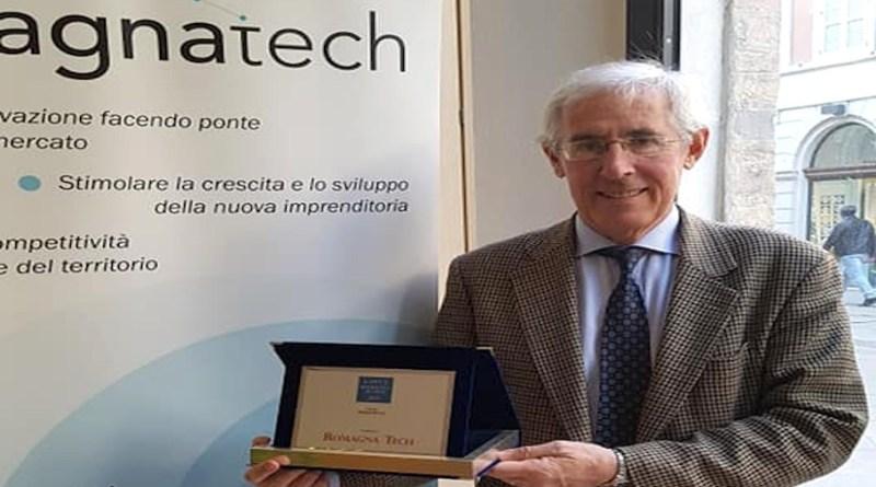 Enrico Sangiorgi con premio RT