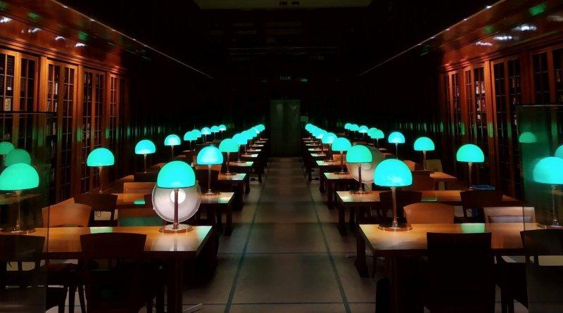 Biblioteca Manfediana notturna