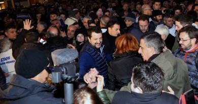 Matteo Salvini a Faenza