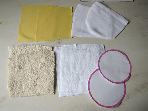 come cucire coppette assorbilatte lavabili 2