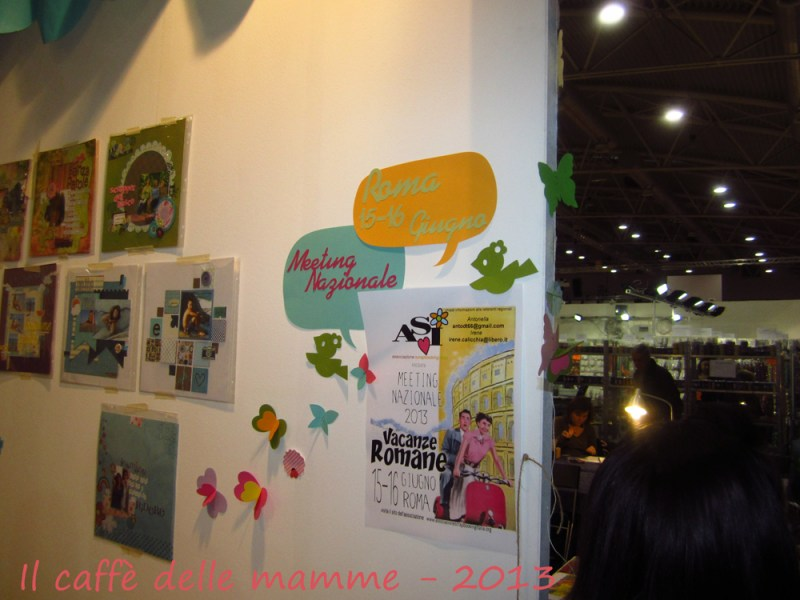 Hobby Show Roma : Lo scrapbooking con l'ASI