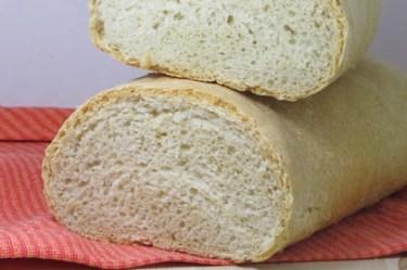 Pane con lievito madre di kamut e farina di farro