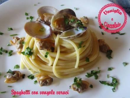 Spaghetti con le vongole veraci