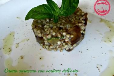 Grano saraceno con verdure