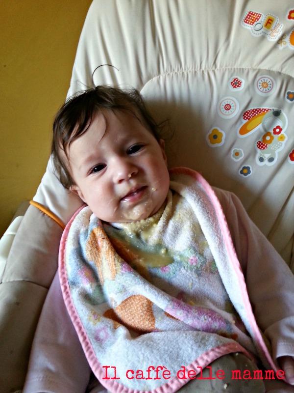 Sofia e lo svezzamento: #liberidisporcarsi