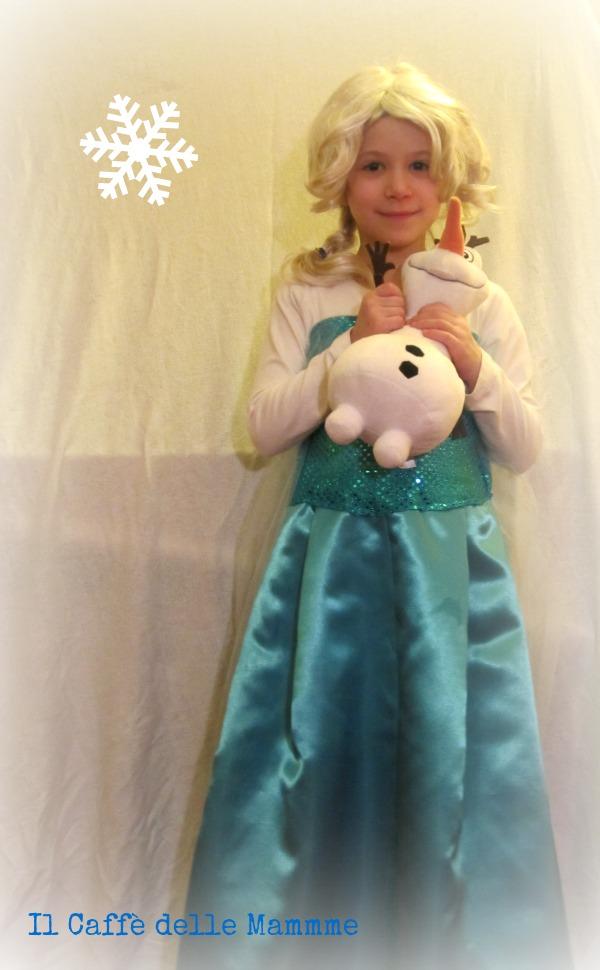 Elsa Da Te Costume Frozen Di Fai WE2ID9HY