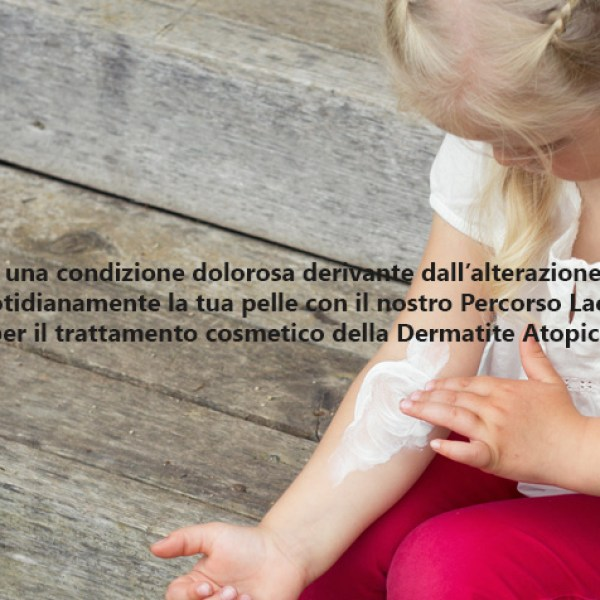 Come gestire la dermatite atopica con Laevia
