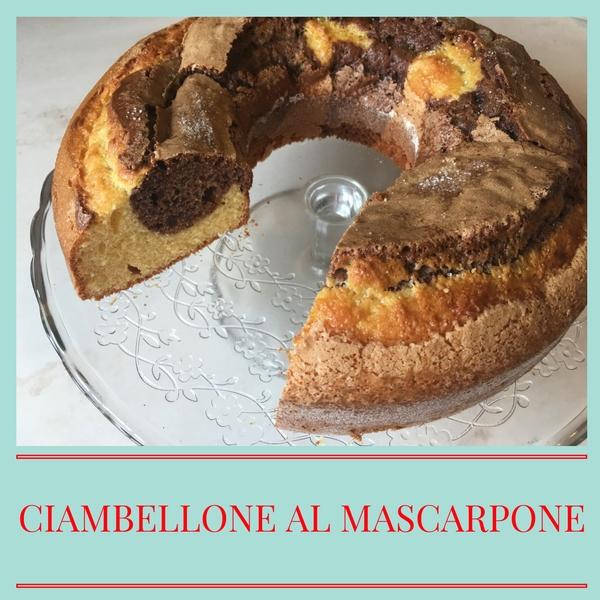 Ciambellone al mascarpone