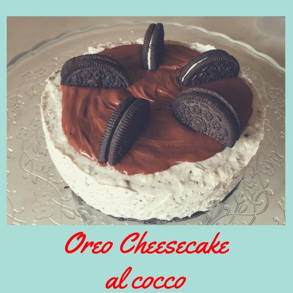 Oreo cheesecake al cocco