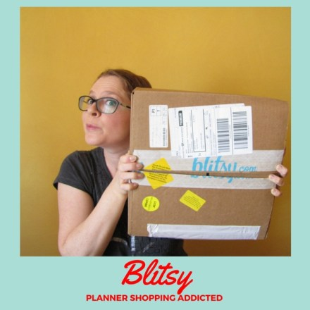 Blitsy – Planner shopping addicted