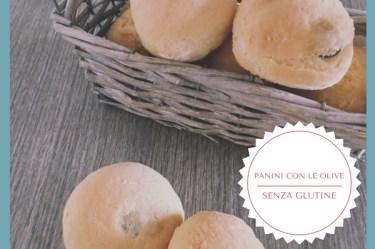 Panini con le olive senza glutine