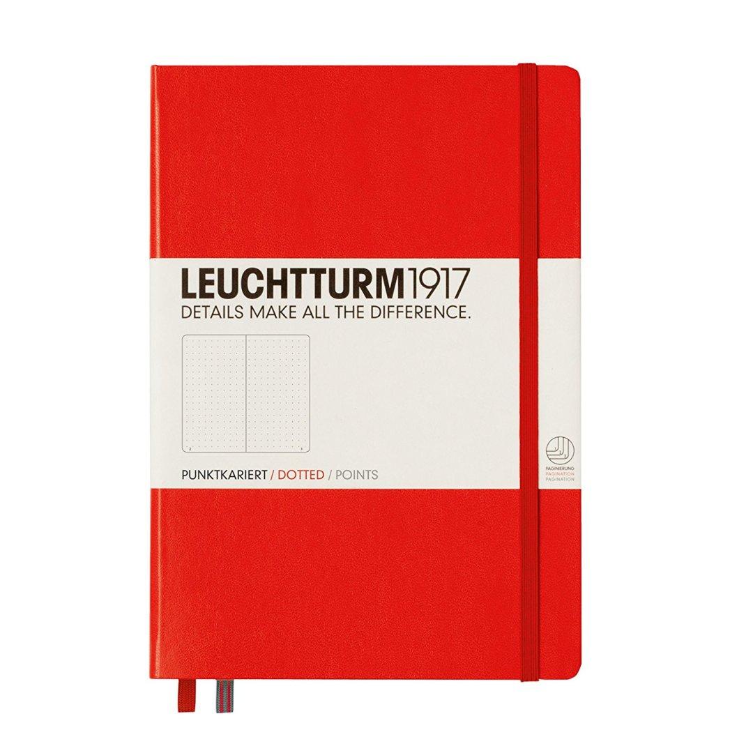 Bullet journal rosso