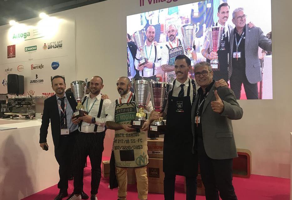 I CAMPIONI DEL CAFFÈ HANNO SFILATO A HOST MILANO 2019