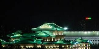 Pyongyang, di notte