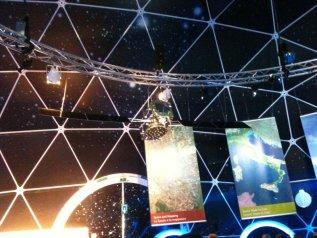 Galileo presentato all'ESE (European Space Exhibition) di Roma