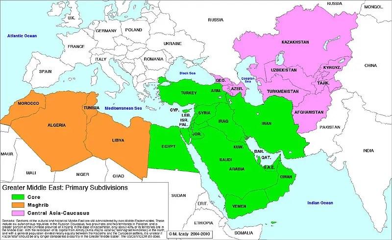 Cartina Geografica Politica Del Medio Oriente.Prospettive Storiche E Strategiche Del Medio Oriente Che Cambia
