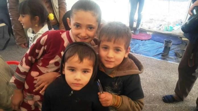 Un'ultima immagine con un primo piano dei bambini curdi - Foto: autore