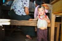 Un altro piccolo birmano assistito dal CESVI (foto dell'autrice)