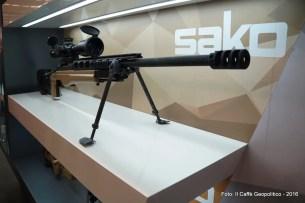 Il fucile di precisione Sako TRG 42