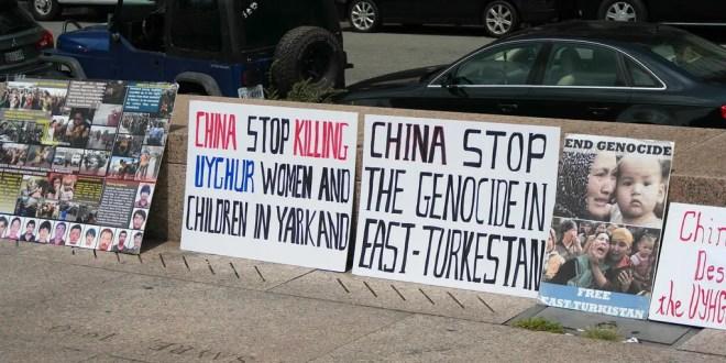 Protesta Turkestan orientale