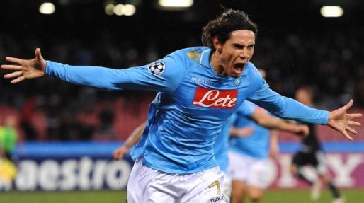 Edinson Cavani at Napoli
