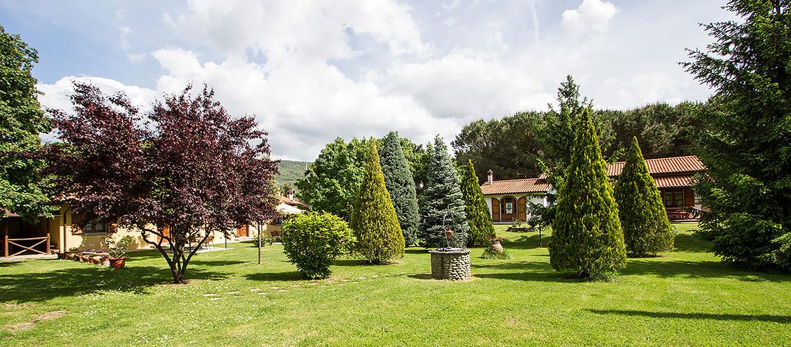Il CampoGrande agriturismo in Toscana con appartamenti giardino piscina e parcheggio
