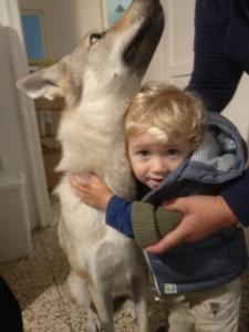 Cosmo Daniel Elite Zara e il suo piccolo amico.