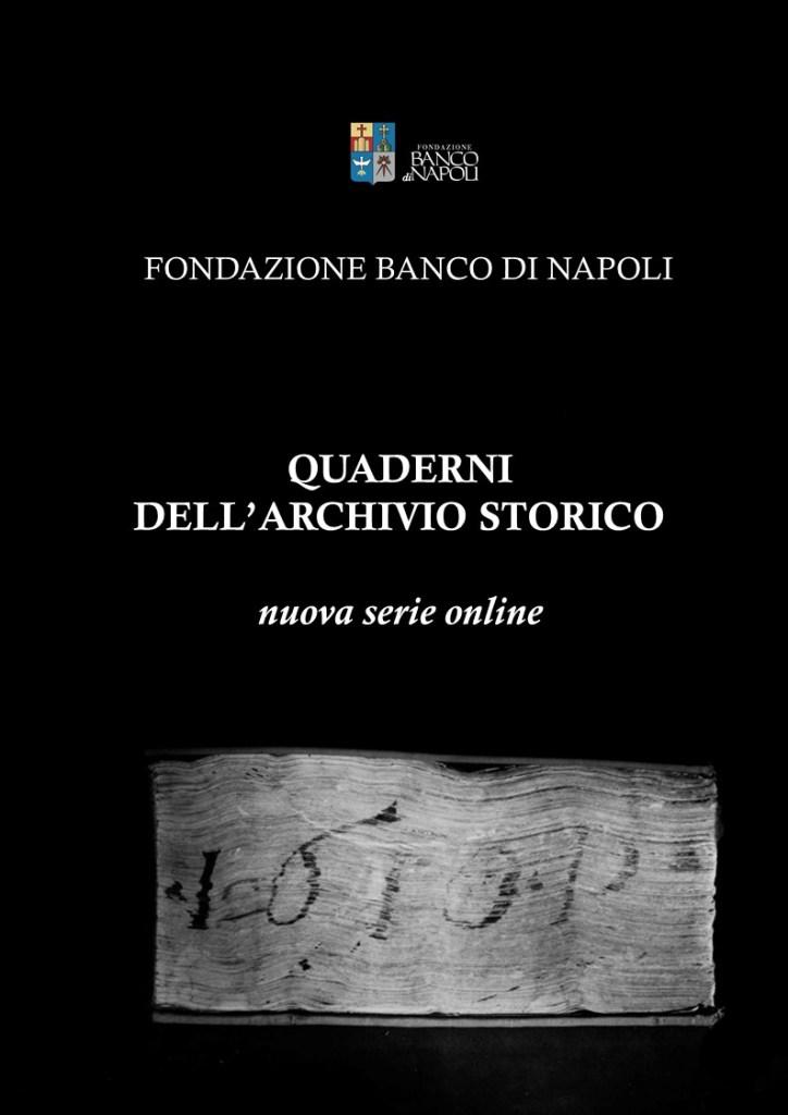 Quaderni dell'Archivio Storico della Fondazione Banco di Napoli