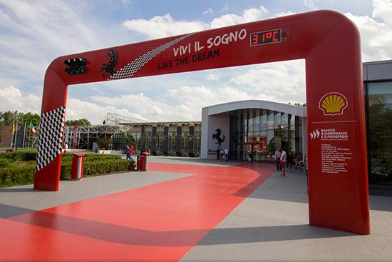 Per il museo Ferrari Maranello 10 Km
