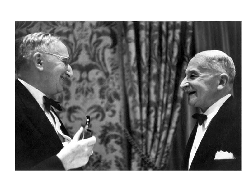 F.A. Hayek con Ldwig von Mises