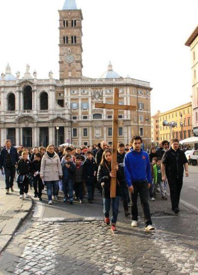 LA GRANDE CASA-Processione Santa Maria Maggiore