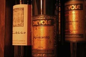 Dievole wine bottles-GRios