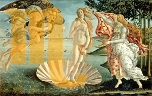 Venere in Scorpione - immagine Botticelli