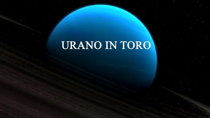 urano in toro