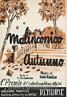 AURELIO FIERRO  Malinconico Autunno
