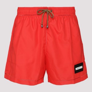 Missoni - Red Swim Shorts A - (a) Clothing Xxs@s