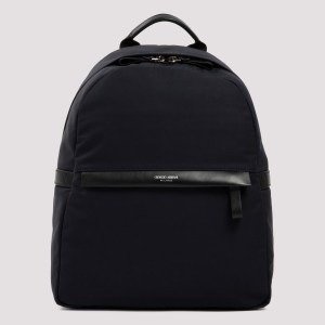 Giorgio Armani - Waterproof Nylon And Leather Backpack Unica