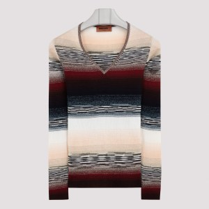 Missoni - Multicolor V-neck Sweater 40