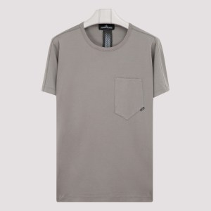 Stone Island Shadow Project - Gray Cotton T-shirt S