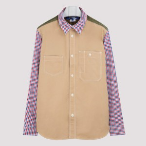 Junya Watanabe - Multipanel Cotton Shirt L