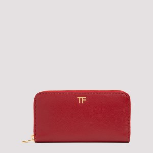 Tom Ford - Tom Ford Tf Leather Wallet Unica