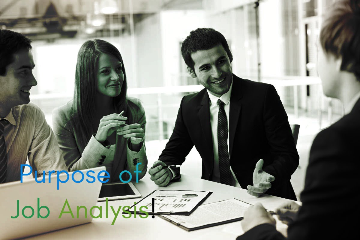 Explain the Purpose of Job Analysis - ilearnlot