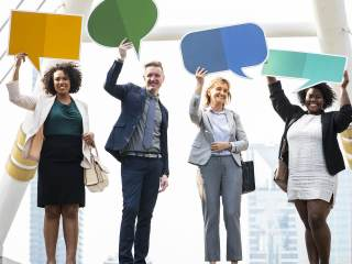 How should the Speech of Marketing be done