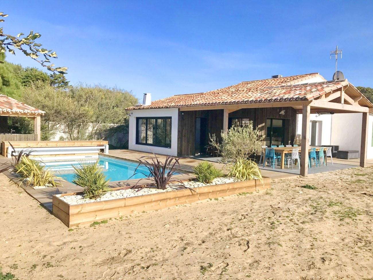 location villa Dune île de ré