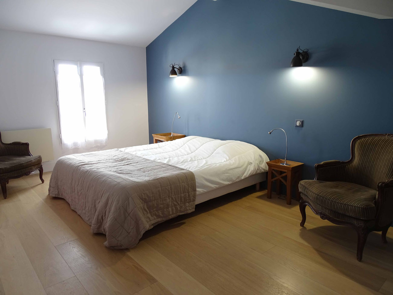 Location Maison Ile de Ré - Bel-Air - Chambre 1