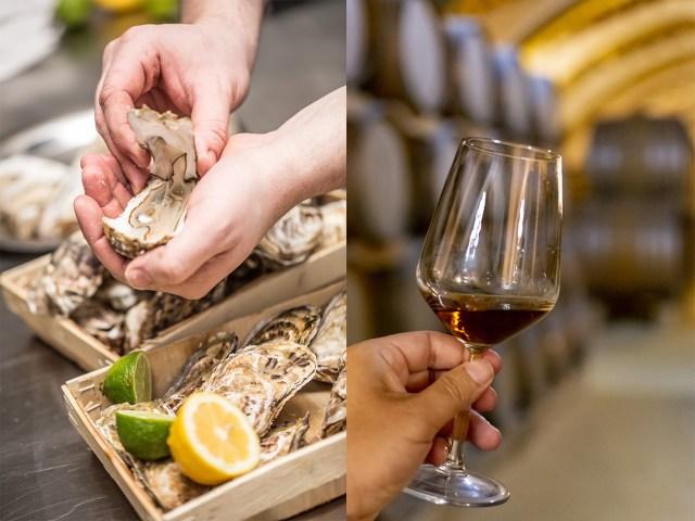 Huîtres et vin Île de Ré