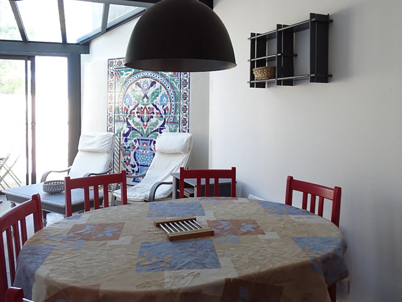Location Appartement Ile de Ré - Bastingage - Coin repas